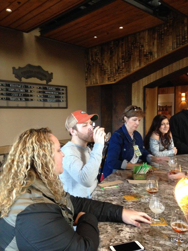learn about beer at a guided brewery tour